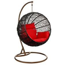 Indoor Hanging Swing Chair Egg Shaped Rattan Hanging Chair U2013 2402691 U2013 A Stylish And Modern Take On A