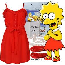 Lisa Simpson Halloween Costume Dress Lisa Simpson Polyvore