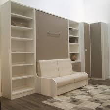 armoire lit canapé escamotable armoire lit escamotable 160cm cus de jacquelin autoporteur canape