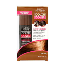 Hair Color Spray For Roots Giuliano Greyfree Instant Hair Color Touch Up Dk