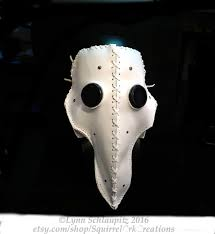 white plague doctor mask leather plague doctor mask white plague doctor