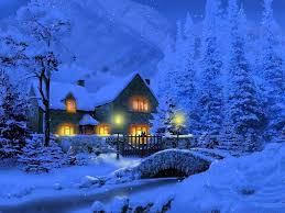 Winter House Tale Tag Wallpapers Winter Tale Temples Chalet Churches Trees