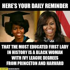 Educated Black Man Meme - kayabrigette equality pinterest politics michelle obama