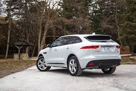 jaguar f pace review 2017 jaguar f pace r sport canadian auto review