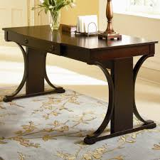 Desk With Tv Stand by Crest Transitional Table Desk With Keyboard Drawer Lowest Price