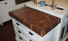 decorating enchanting walnut butcher block countertop with single impressive walnut butcher block ountertop with white wooden
