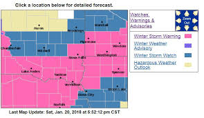 South Dakota travel warnings images Winter storm up to 18 inches possible in southeastern south dakota jpg