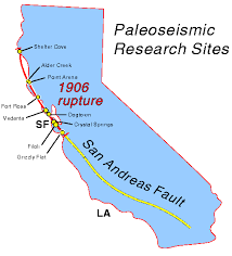 san francisco fault map new information about the san andreas fault