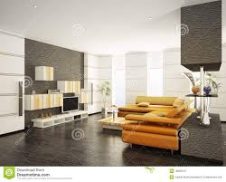 Modern Living Room Pictures Free Modern Living Room Interior 3d Render Royalty Free Stock Photo