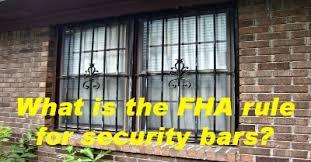 what is the fha rule for security bars u2022 birmingham appraisal blog