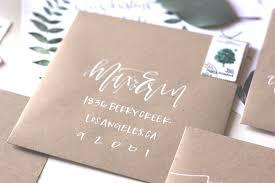 wedding envelopes kraft wedding suite calligraphy a fabulous fete