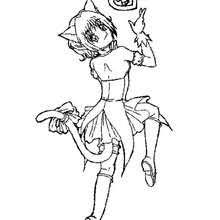 tokyo mew mew coloring pages coloring