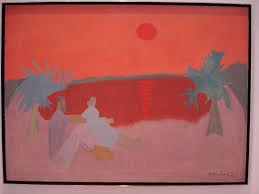 milton avery was a painter who created work from the 1920 s until the early 1960 s his work is not entirely considered mondernist in style but acts as a