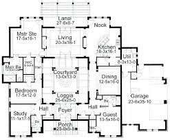style house plans with interior courtyard interior courtyard house plans plan of unit style house