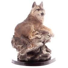 wolf ornament wildlife figurines wolf ornaments yourpresents co uk