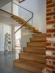 floating straight stairs wood trh 571 wood stairs from