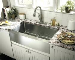 solid surface farmhouse sink highpoint collection white 30 inch solid surface reversible stone