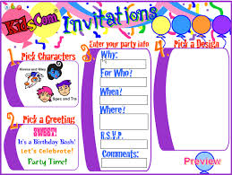 online birthday invitations birthday invitation templates create birthday invitations online