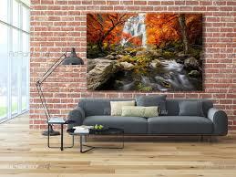autumn waterfall wall murals posters mcca1071en autumn waterfall wall murals waterfalls posters