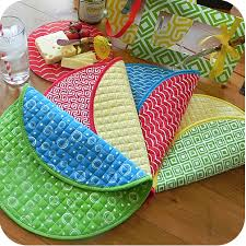 reversible quilted placemats