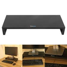 Laptop Riser For Desk Computer Monitor Riser Desk Table Led Tv Stand Shelf Desktop