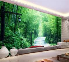 popular bamboo forest trail buy cheap bamboo forest trail lots 3d wallpaper custom photo wall paper bamboo forest trail background wall tv