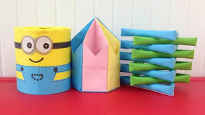 top 3 paper pencil holders super easy to make easy origami for