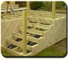 how to build deck stairs framing deck box steps with an inside