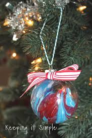 nail dipped ornaments keeping it simple crafts
