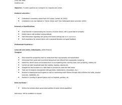 Sample Resume For Caregiver For An Elderly Stunning Caregiving Resume Pictures Simple Resume Office