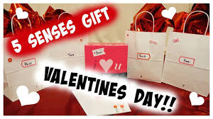 Homemade Valentine S Day Gifts For Him by Diy 5 Senses Gift For Valentines For Your Boyfriend Husband