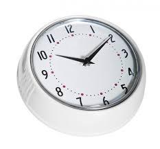 Scandinavian Wall Clock Färg Form Wall Clock