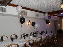 White Silver And Black Party Decorations By Teresa Black And White
