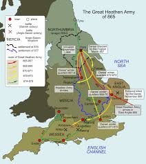 Alfred New York Map by 871 The Battle For Wessex Or How Alfred The Great Came To The