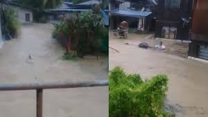 flood warning sounds in batu ferringhi youtube