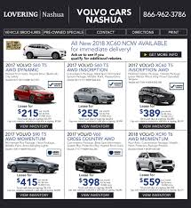 volvo msrp new vehicle specials at lovering volvo cars nashua