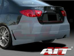 rear bumper hyundai elantra style rear bumper cover for hyundai elantra 2007 2010
