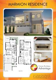 double storey upside down living small lot home