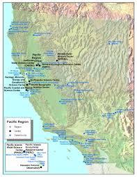 pacific region map pacific region map