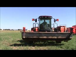 2008 macdon m200 self propelled windrower for sale sold at