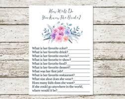 wedding flowers questionnaire bridal questionnaire etsy