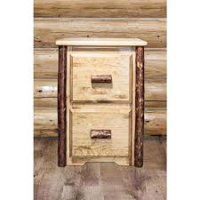 Pine Filing Cabinet Rustic File Cabinets Home Office Furniture The Home Depot