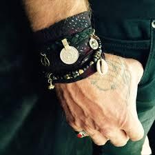 wrap wrist bracelet images Crescent moon charm bracelet fabric wrist wrap vera black jpeg