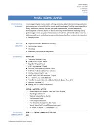 financial modelling resume model of resume template model resume samples templates and job descriptions