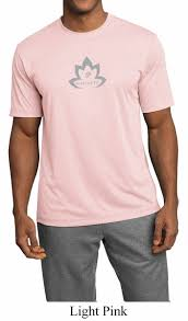 light pink t shirt mens mens yoga shirt grey namaste lotus moisture wicking tee t shirt