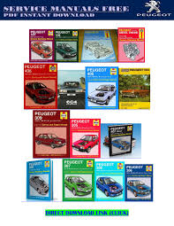 peugeot 207 service repair manuals free by andrewmuscle issuu