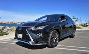 lexus mid size crossover 2017 lexus rx450h f sport road test review by ben lewis