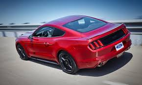 california mustang 2016 ford mustang revives california special package