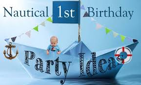nautical 1st birthday party ideas love and duck fatlove and duck