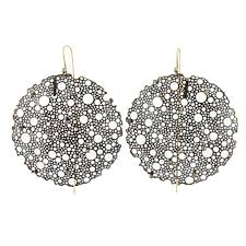 ted muehling earrings ted muehling s lace black diamond earrings at 1stdibs